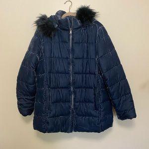 Loft Crushed velvet winter jacket